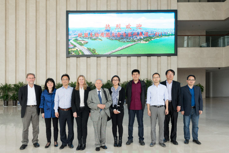 Visita al China Yixing Industrial Park For Environmental Science & Technology